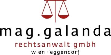 Logo mag. galanda rechtsanwalt gmbh